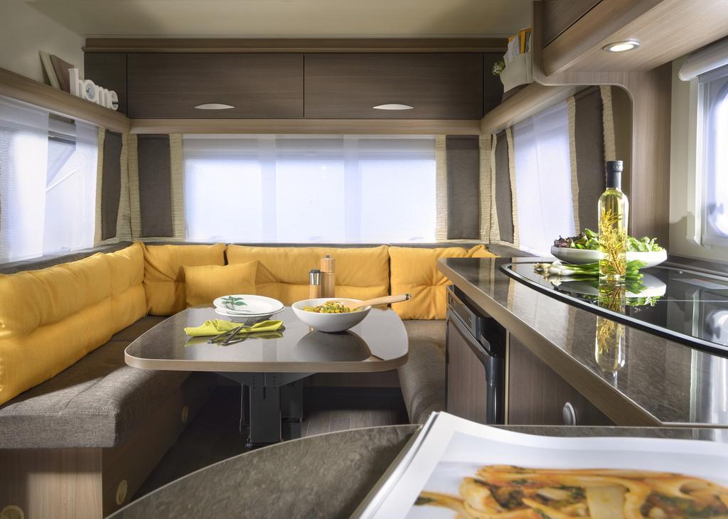 Bürstner mit optimierten Caravan-Modellen in die neue Saison