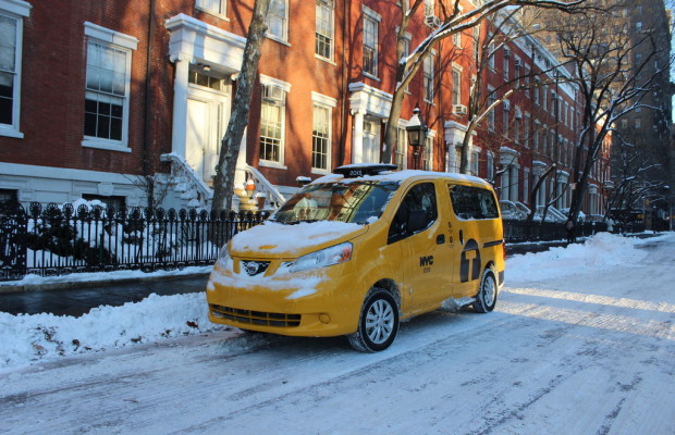 Brief aus New York: Fünf Tage im Taxi of Tomorrow