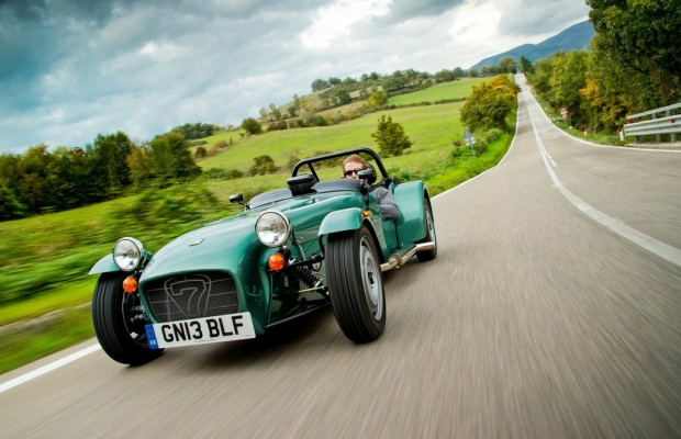 Caterhams Export boomt