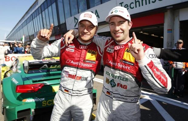 DTM: Spektakulärer Fahrerwechsel bei Audi