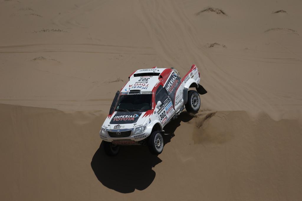 Dakar 2014: Karginov überholt de Rooy