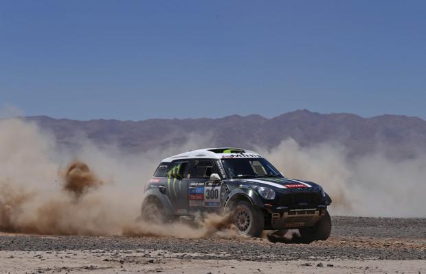 Dakar 2014: Mini bestimmt das Tempo