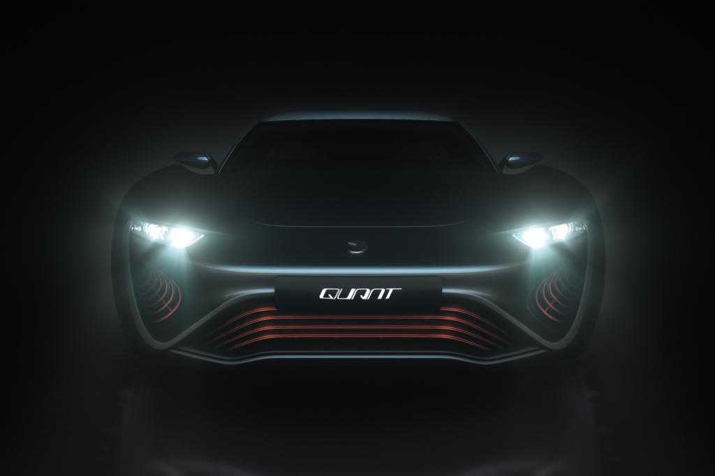 Das E-Auto Quant muss nicht an die Steckdose