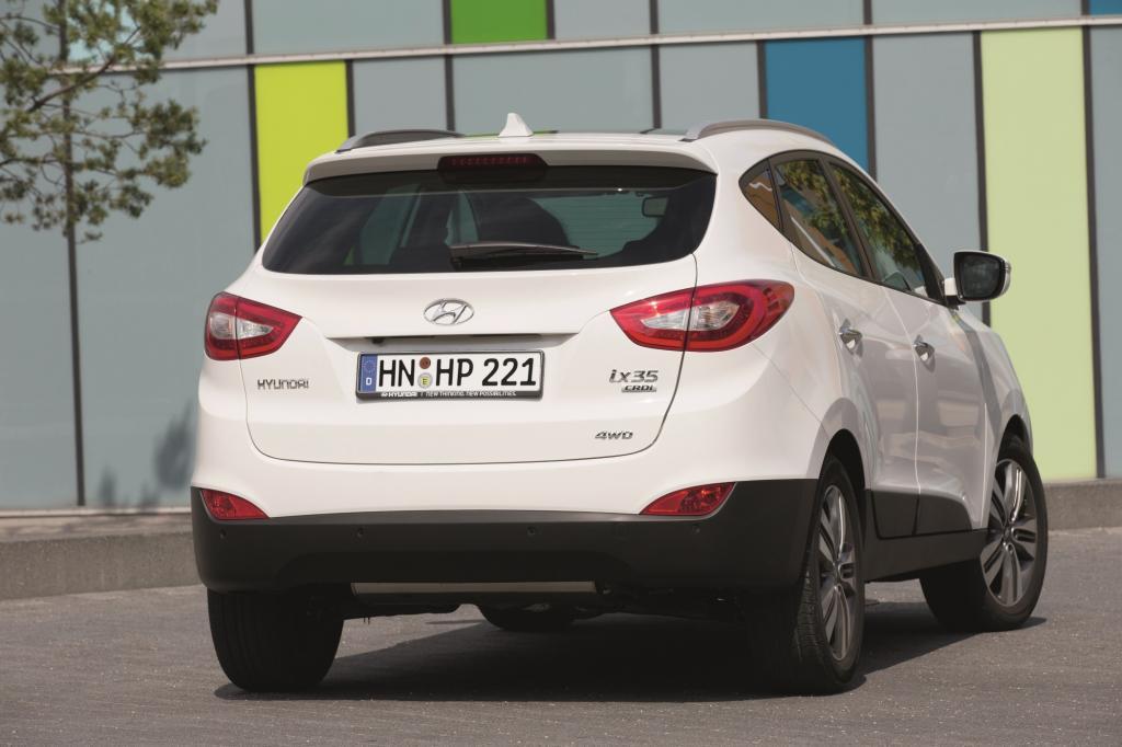 Das Kompakt-SUV ix35 macht den Hyundai-Verkaufsstrategen viel Freude.