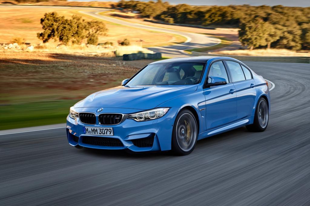 Der BMW M3 wird erstmals von einem Turbomotor angetrieben - © BMW