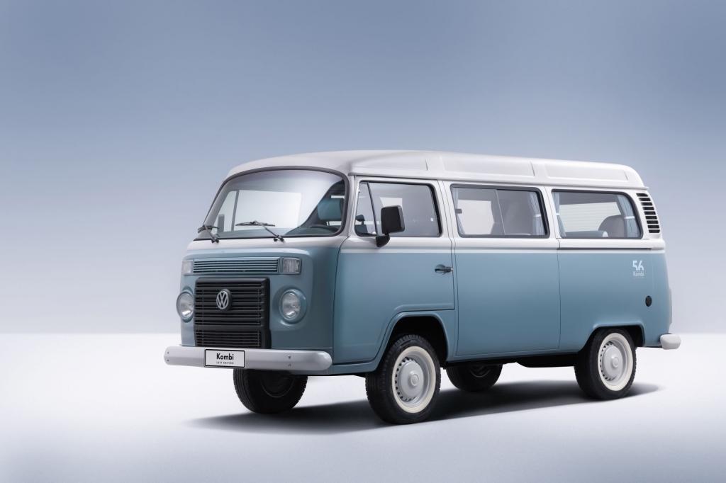Der Brasilien-Bulli erfüllt nicht mehr die Sicherheits-Anforderungen © VW
