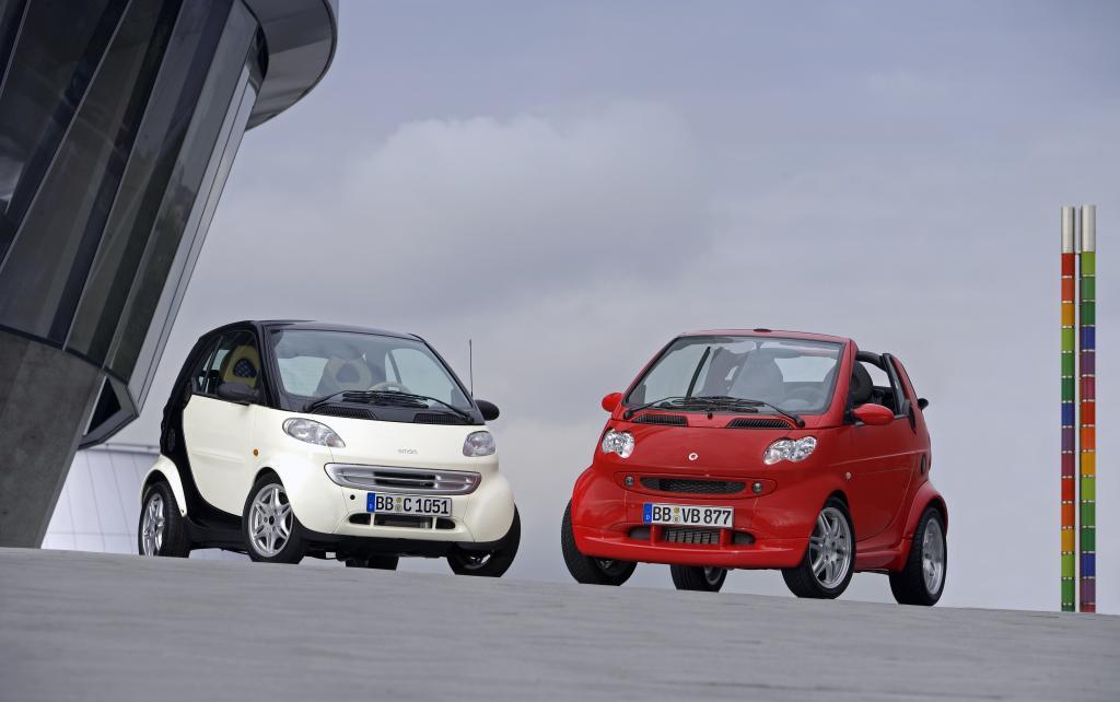 Der Großteil der auf dem Gebrauchtwagenmarkt angebotenen Fortwo wird von einem nur 0,6 Liter großen Dreizylinder-Turbobenziner angetrieben