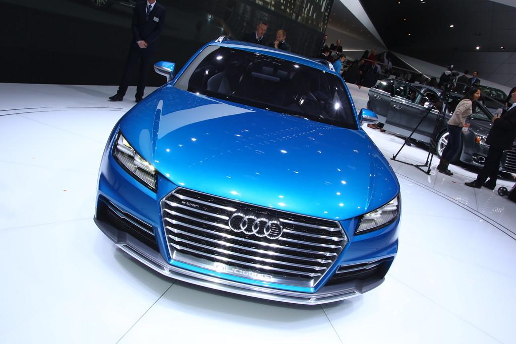 Detroit 2014: Audis Crossover mit zwei Türen und drei Motoren