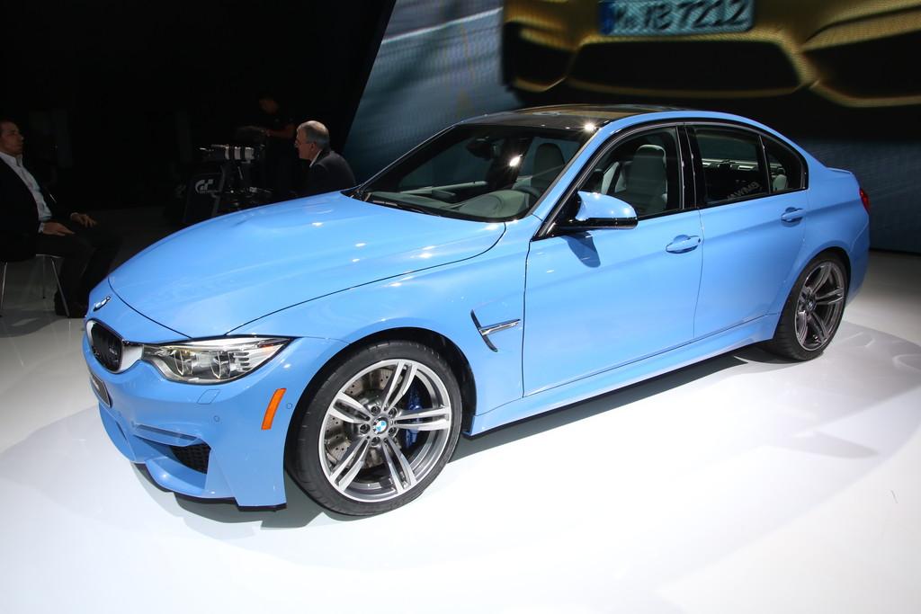 Detroit 2014: BMW M3 Limousine mit 431 PS