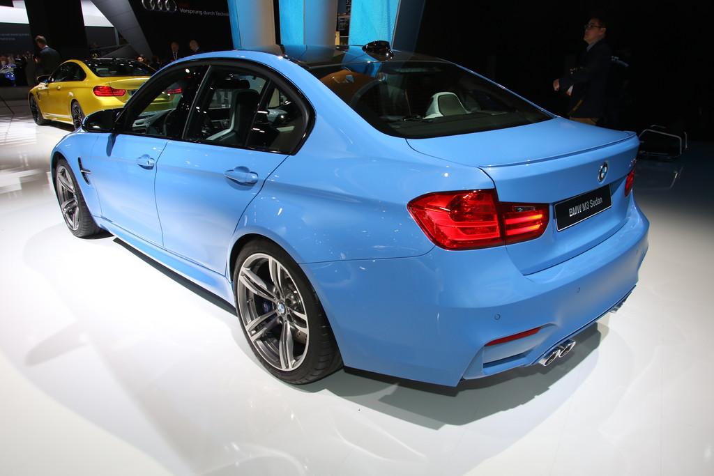 Detroit 2014: BMW M3 und M4 mit 431 PS