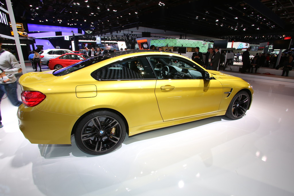 Detroit 2014: BMW M4 Coupé mit 431 PS