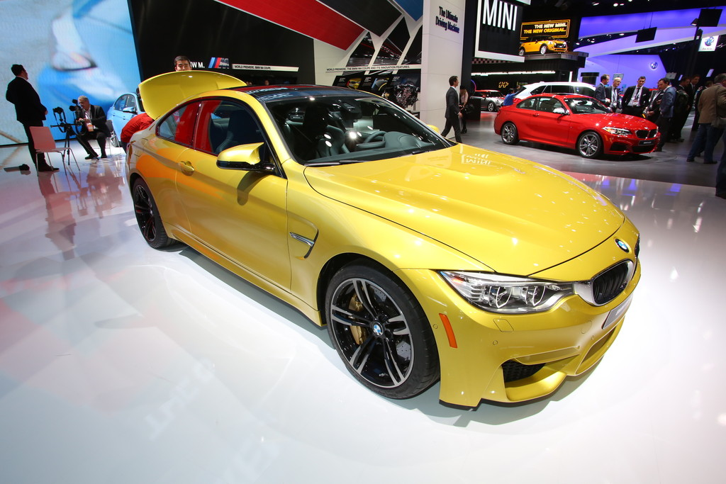 Detroit 2014: BMW M4 Coupé mit 431 PS