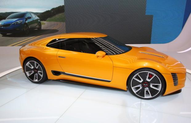 Detroit 2014: Beim Kia GT4 Stinger macht der Motor die Musik