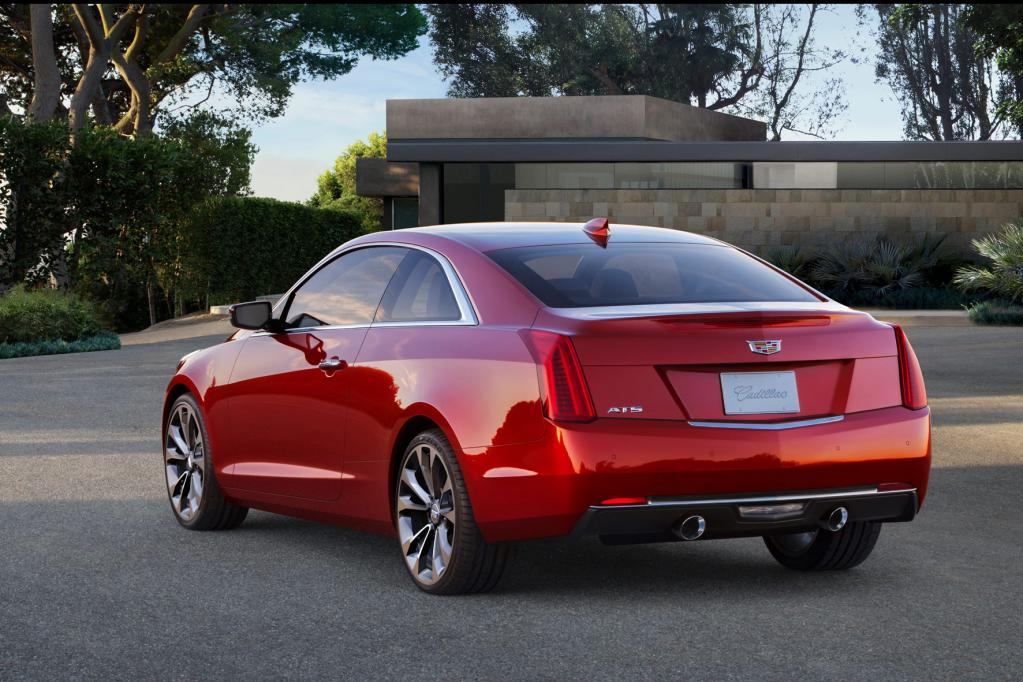 Detroit 2014: Cadillac ATS Coupé debütiert auf der NIAS 2014