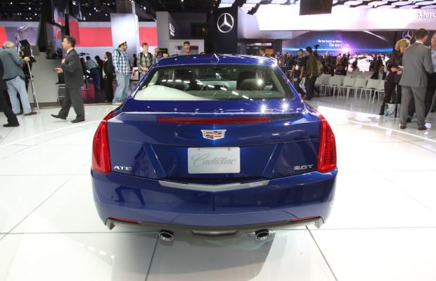 Detroit 2014: Cadillac ATS als Coupé mit mehr Drehmoment