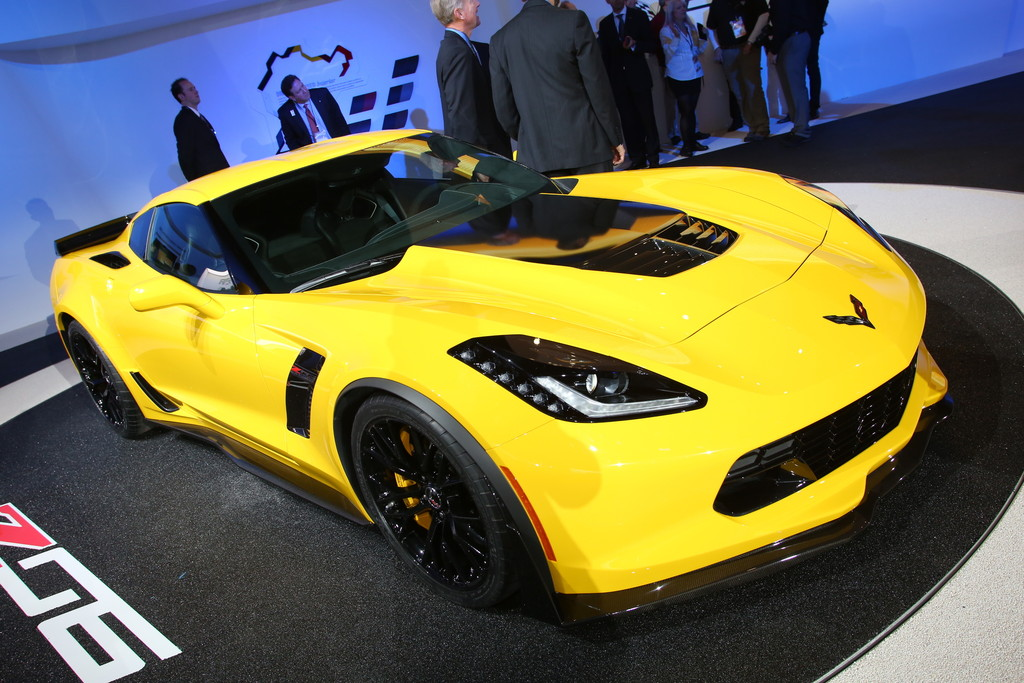Detroit 2014: Corvette mit mehr Biss denn je