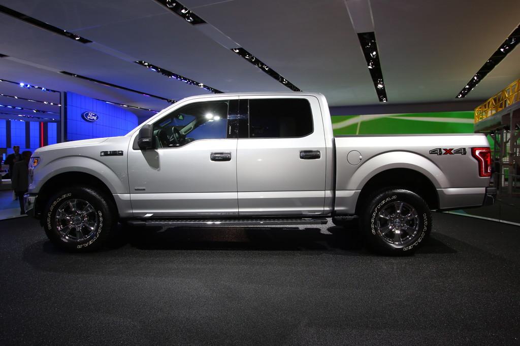 Detroit 2014: Der Ford F-150 trägt jetzt Alu