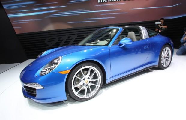 Detroit 2014: Der Porsche Targa ist wieder da