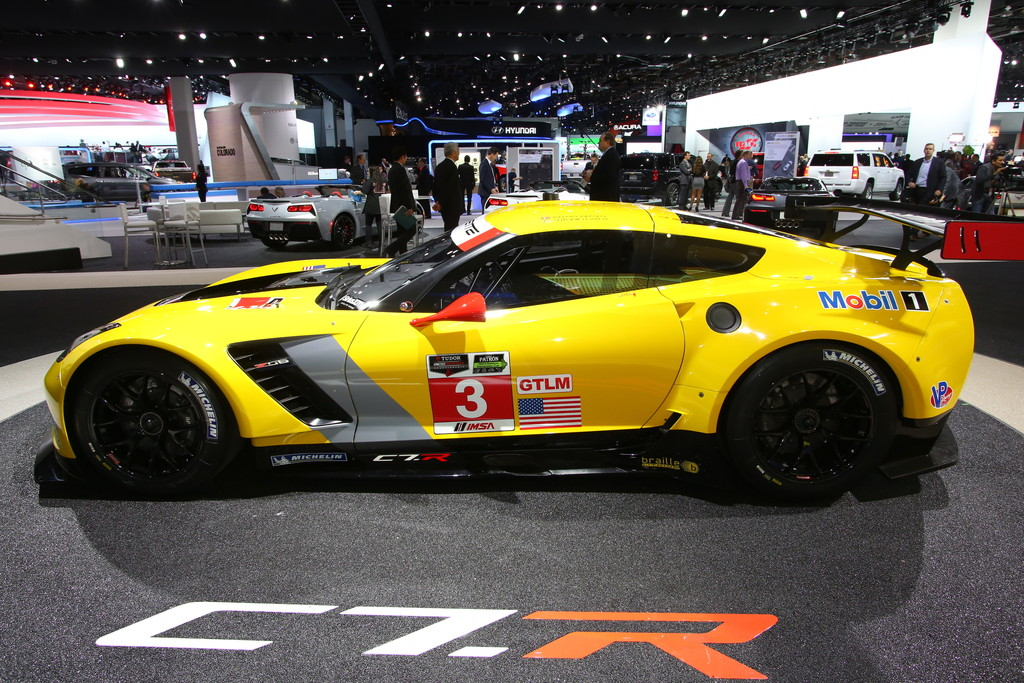 Detroit 2014: Die Corvette C7 R für die Rennpiste