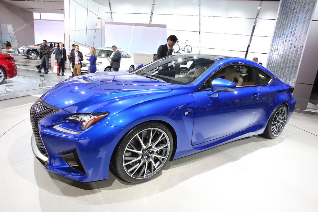 Detroit 2014: Lexus RC F mit verstellbarem Torque Vectoring