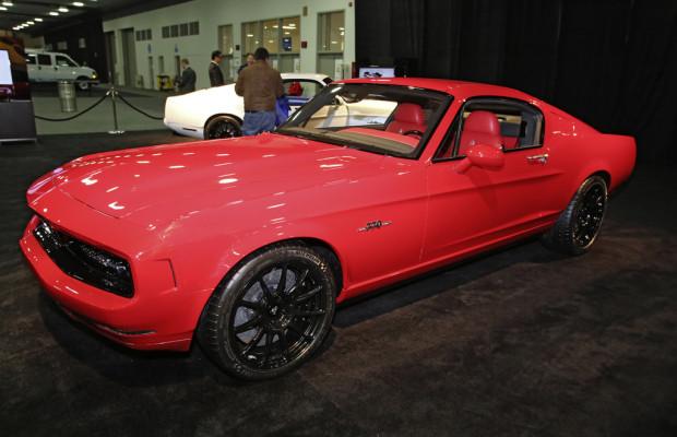 Detroit 2014: Man mische ein paar Muscle Cars