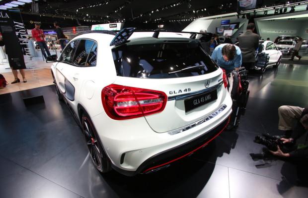 Detroit 2014: Mercedes GLA 45 AMG - Das sportlichste Kompakt-SUV der Welt