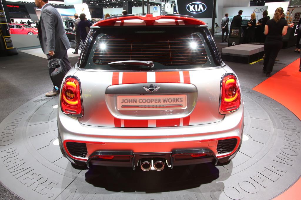 Detroit 2014: Minis Topmodell noch ein Concept
