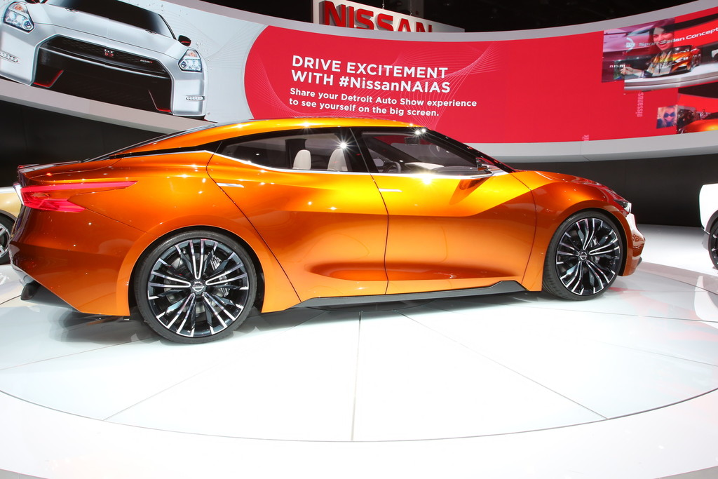 Detroit 2014: Nissan gibt Vorgeschmack auf Sportlimousine