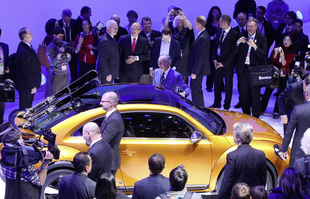 Detroit 2014: VW Beetle Dune kommt in