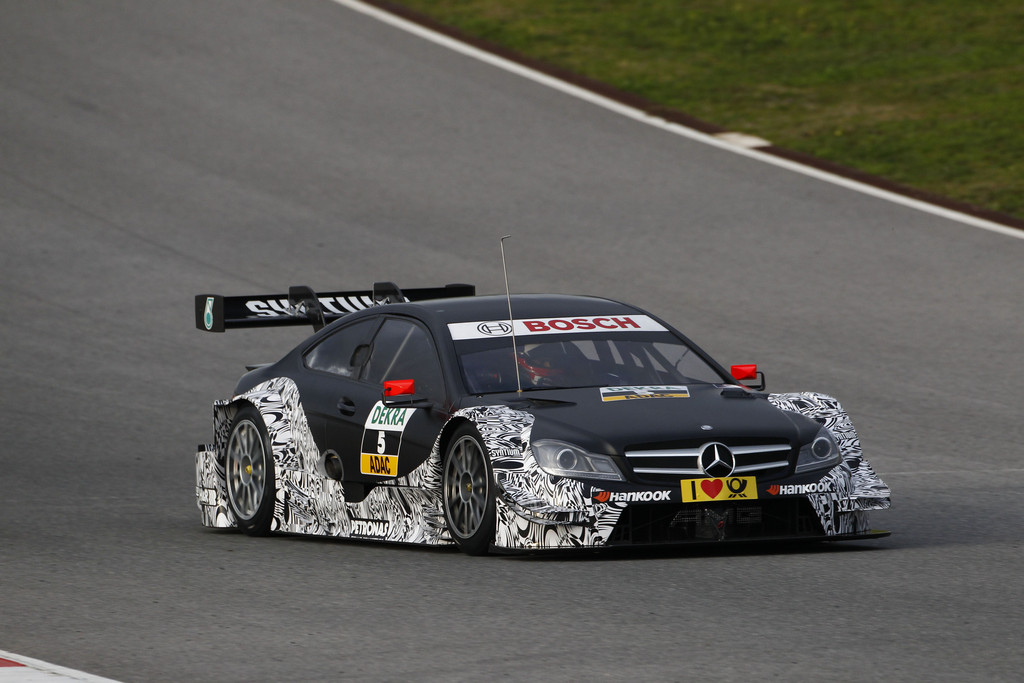 Di Resta zurück im Mercedes-Benz DTM-Cockpit