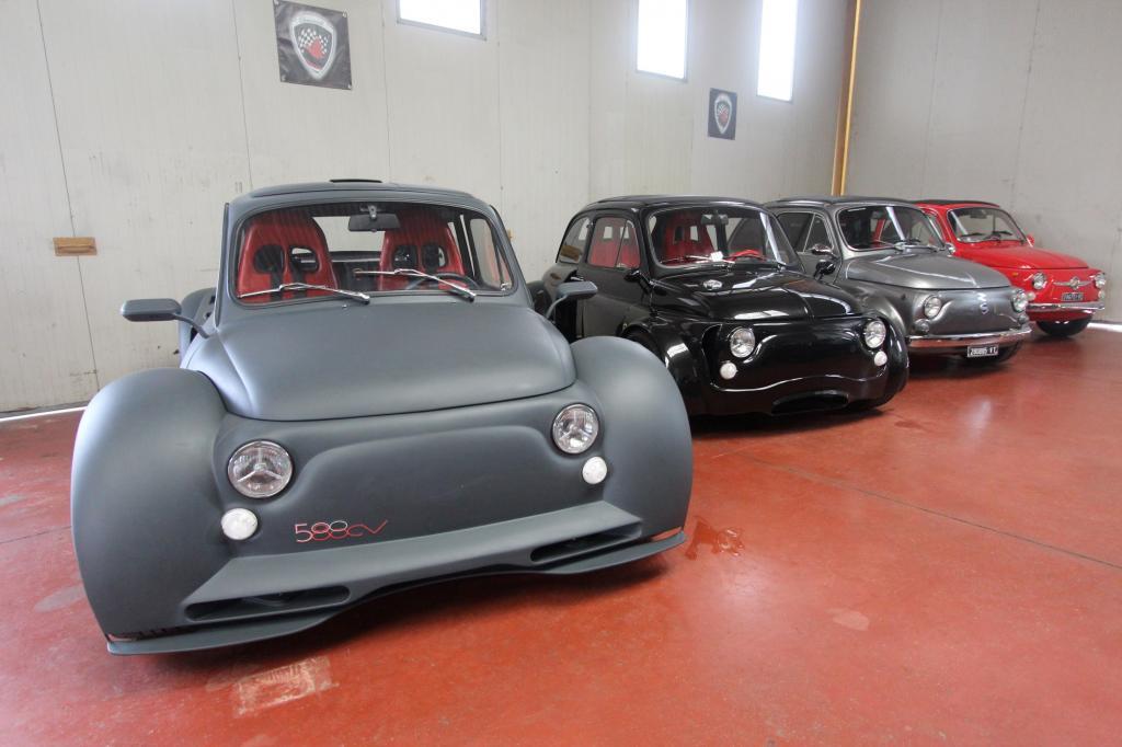 Dini hat Erfahrung mit dem Fiat 500