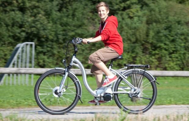 E-Bike als Geschäftsgespräch-Einstieg