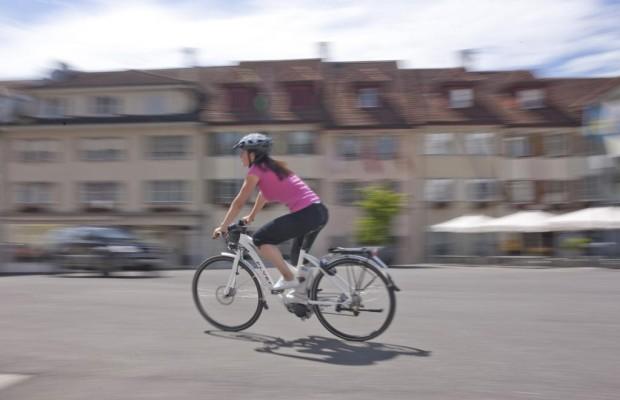 E-Biker fahren gefährlich