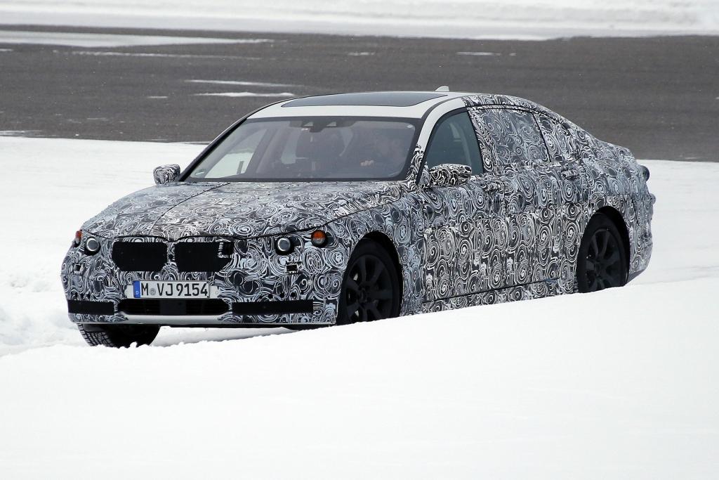 Erwischt: Erlkönig BMW 7er  - BMW unter Zugzwang?