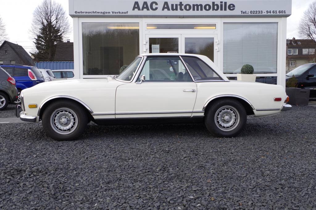 Exakt 20.950 Mark waren im Frühjahr 1968 für einen 280 SL zu überweisen