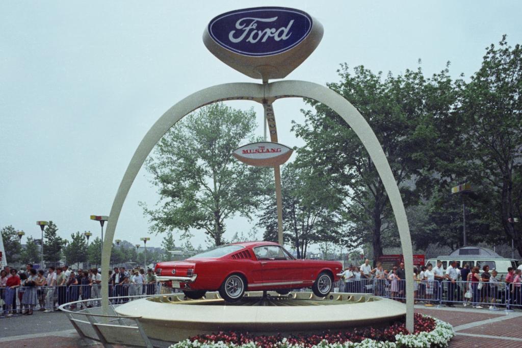 Ford Mustang-Premiere, New York Weltausstellung 1964
