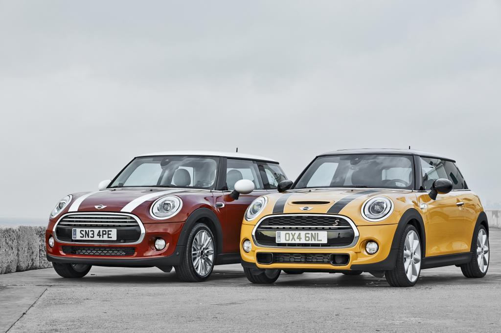 Foto © Mini Mini Cooper (links) und Cooper S sind minimal teurer geworden