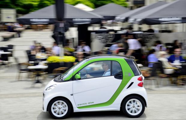 Gelber Engel: Der Elektro-Smart ist das beste Stadtauto