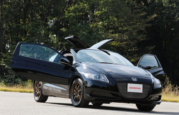 Honda CR Z Carbon Prototyp - Leicht spaßig