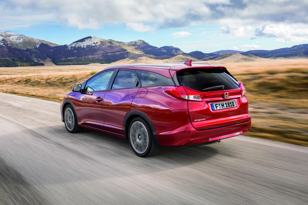 Honda Civic Tourer mit Null-Prozent-Finanzierung