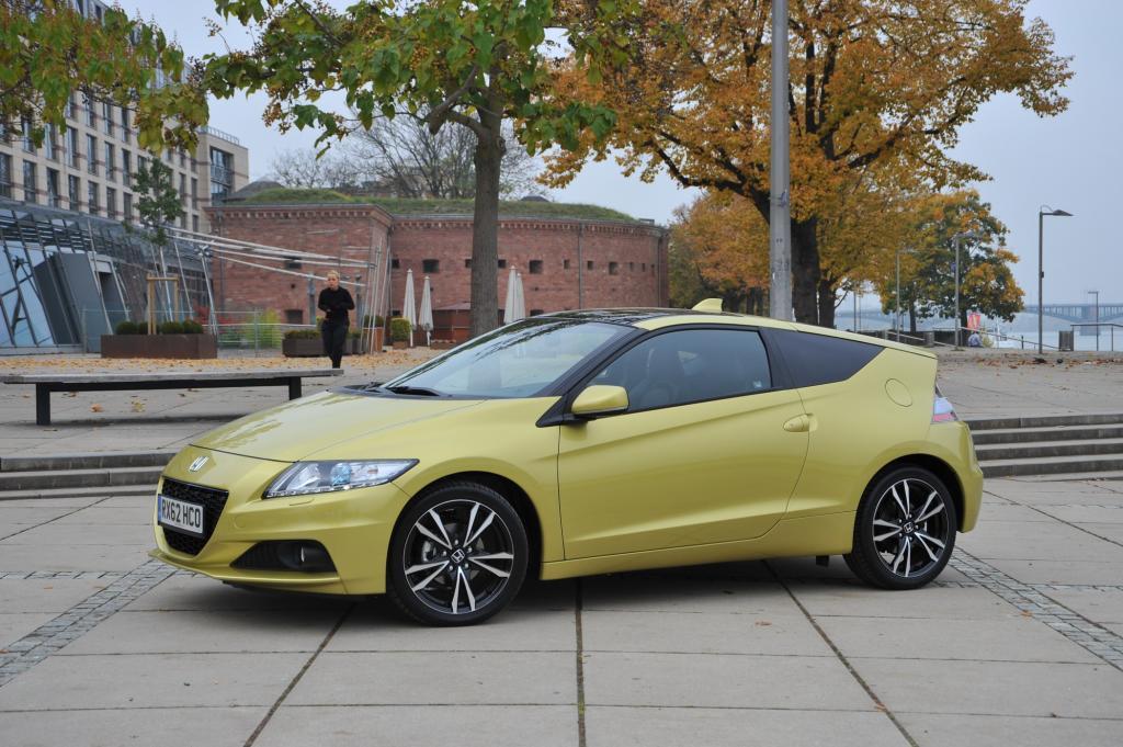 Honda nimmt das Hybrid-Coupé CRZ vom Markt © Honda