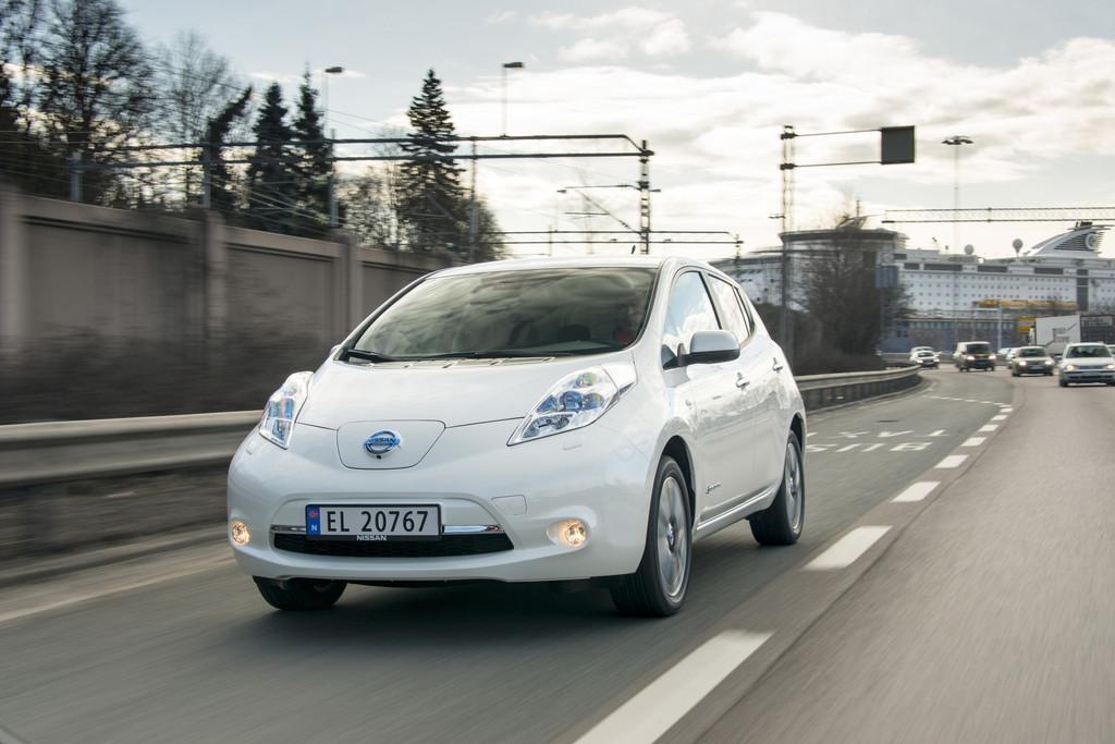 Im Kältetest: Reichweiten bei Batterie-Autos brechen ein - © Nissan