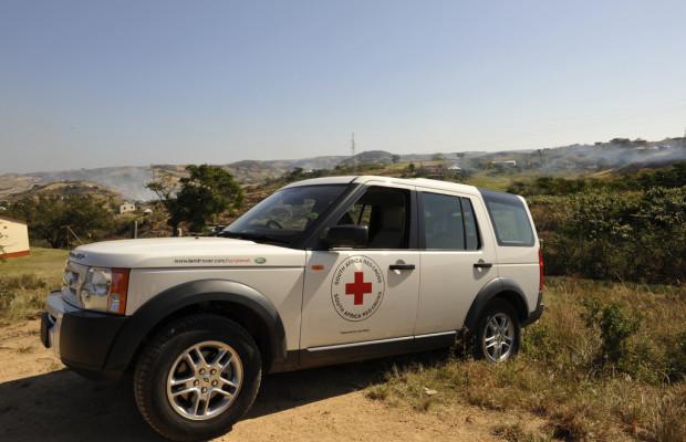 Land Rover verlängert Partnerschaft mit Rotem Kreuz und Rotem Halbmond