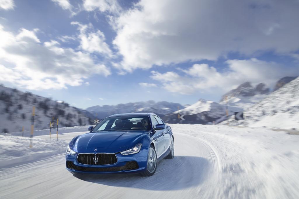 Maserati Ghibli und Quattroporte S Q4 - Zackig durch den Schnee