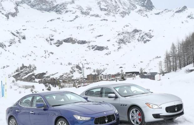 Maserati Quattroporte mit Allradantrieb