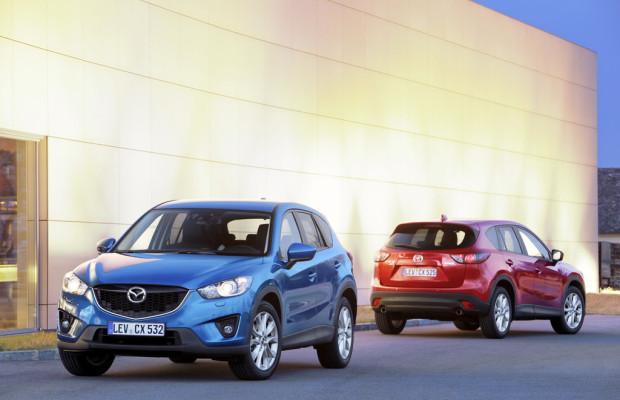 Mazda steigert sich auf fast 45 000 Neuzulassungen