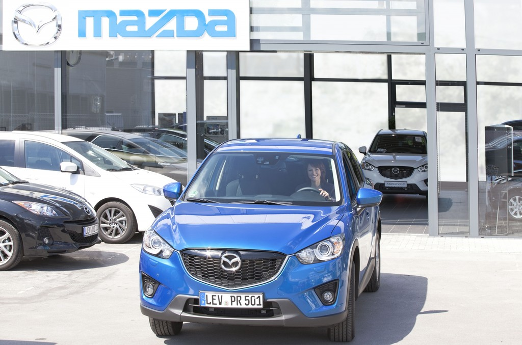 Mazda stellt Weichen für Wachstum