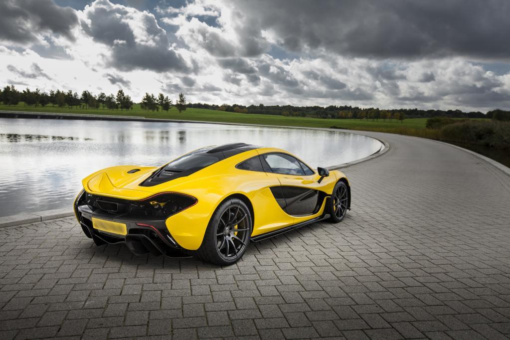 McLaren P1 mit Zusatzpower über 1 000 PS