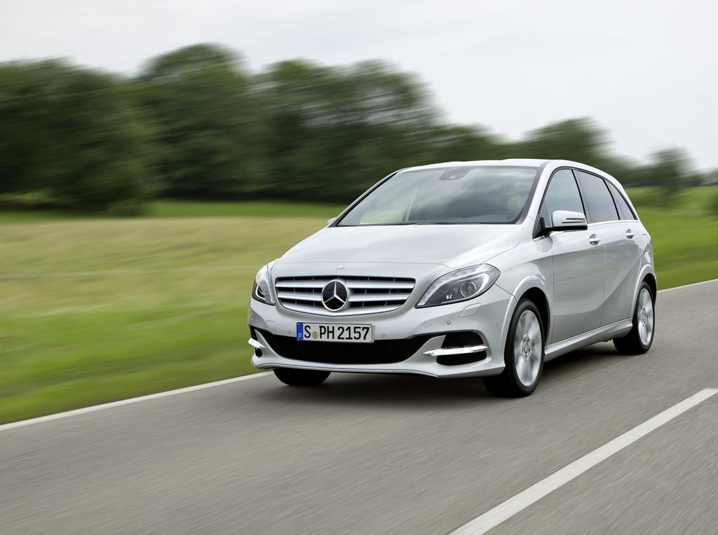 Mercedes-Benz B 200 Natural Gas Drive - Foto: Auto-Medienportal.Net/Daimler