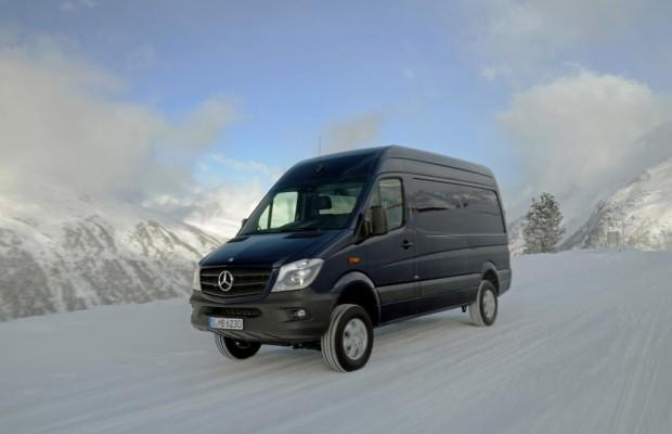 Mercedes Sprinter 4x4: Für spezielle Fälle